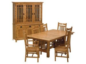 Trestle Mission Dining Collection