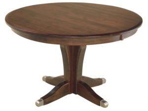 Vintage Pedestal Dining Room Table