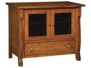 Wellington One Drawer, Two Door Plasma Stand