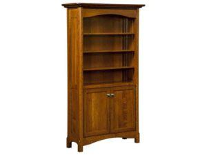 Westlake Style Bookcase with Doors