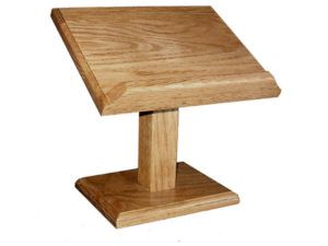 Solid-Wood Cookbook - Bible Stand