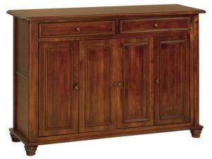 Woodbury Wine and Leaf Storage Cabinet