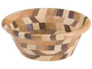 Mixed Wooden King's Dish Bowl