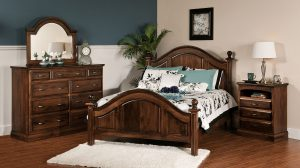 Adrianna Hardwood Bedroom Collection
