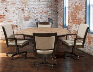 Akron Hardwood Desk Chair