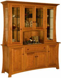 Solid Wood Arlington Eight Door Hutch