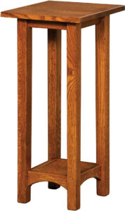 Arts and Crafts Hardwood Plant Stands