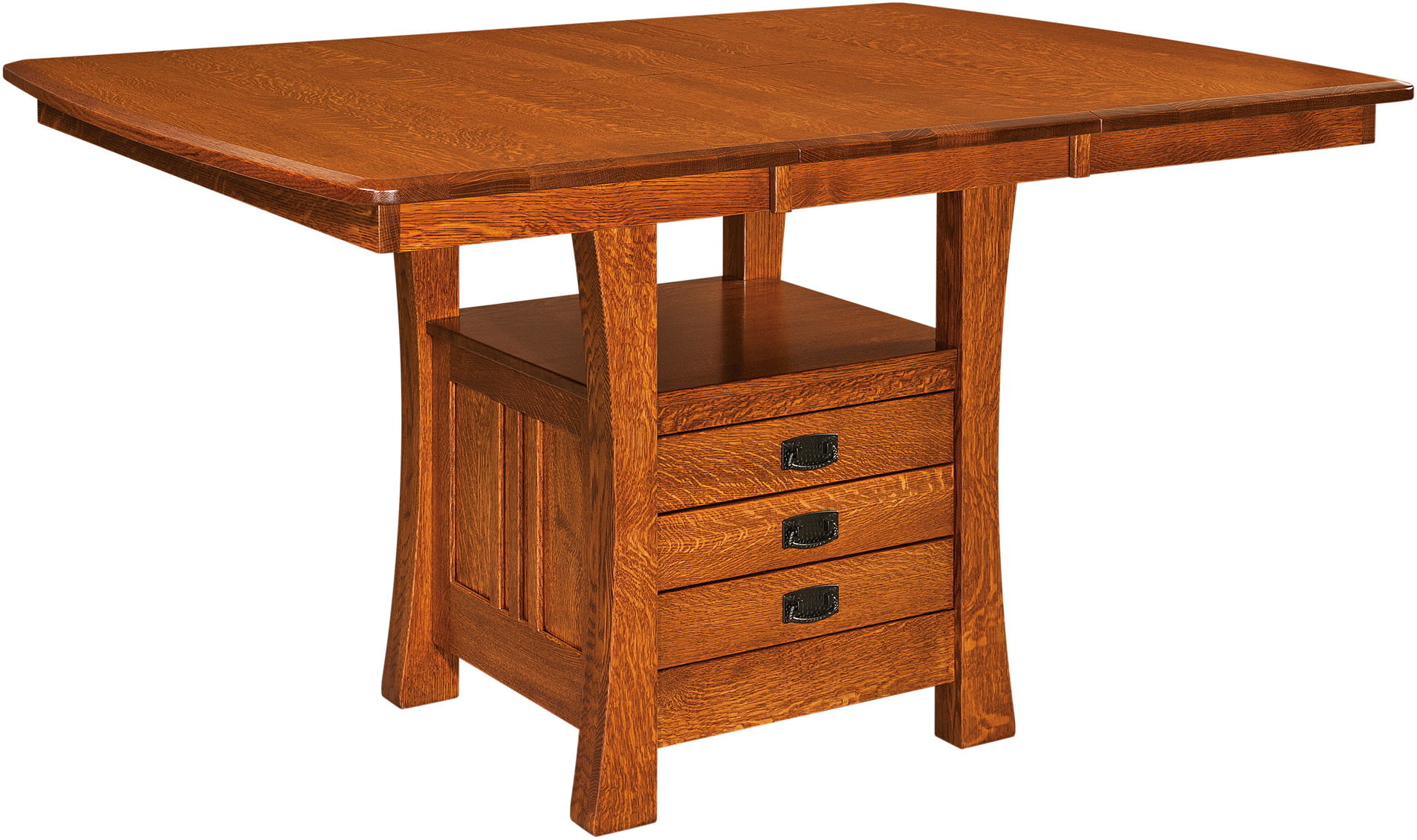 Arts And Crafts Cabinet Base Table Amish Arts And Crafts