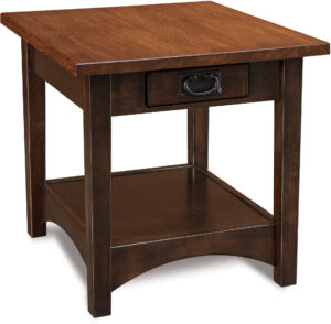 Arts and Crafts Open End Table