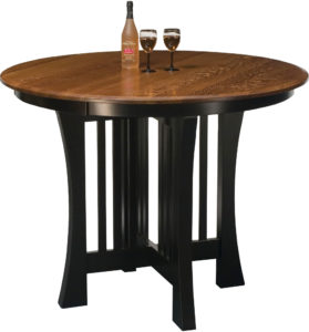 Arts and Crafts Pub Dining Table