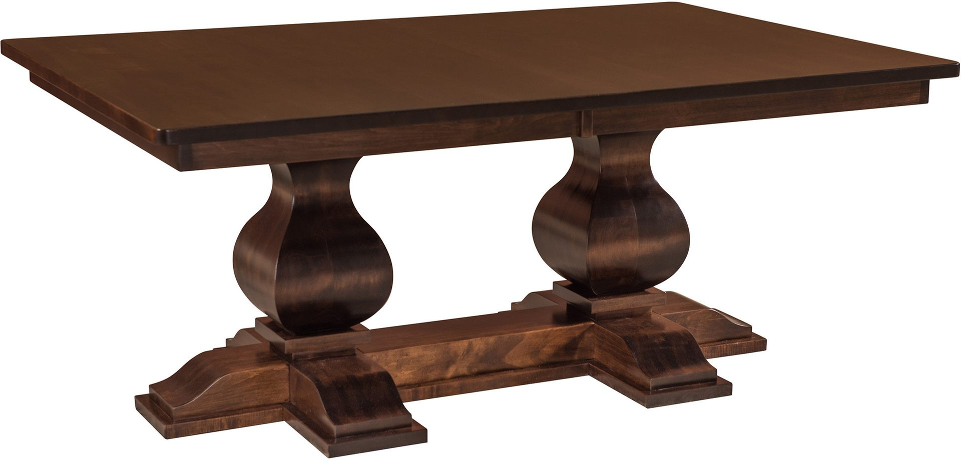 Barrington Double Pedestal Dining Table Amish Barrington