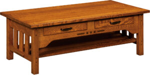 Boulder Creek Amish Coffee Table