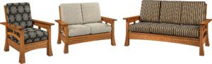 Brady Sofa, Loveseat and Chair Set
