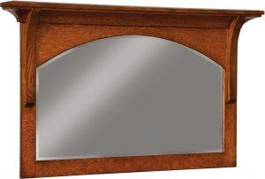Breckenridge Hardwood Dresser Mirror