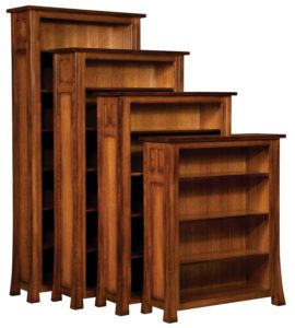 Bridgefort Hardwood Mission Bookcase