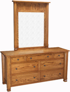 Brockport Dresser with Mirror