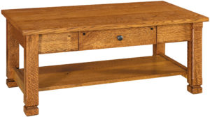 Brockport Hardwood Coffee Table