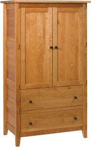 Bungalow Hardwood Armoire