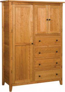 Bungalow Hardwood Chifferobe