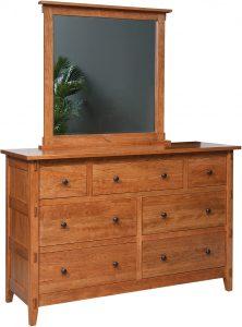 Bungalow Hardwood Dresser