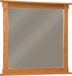 Bungalow Hardwood Dresser Mirror