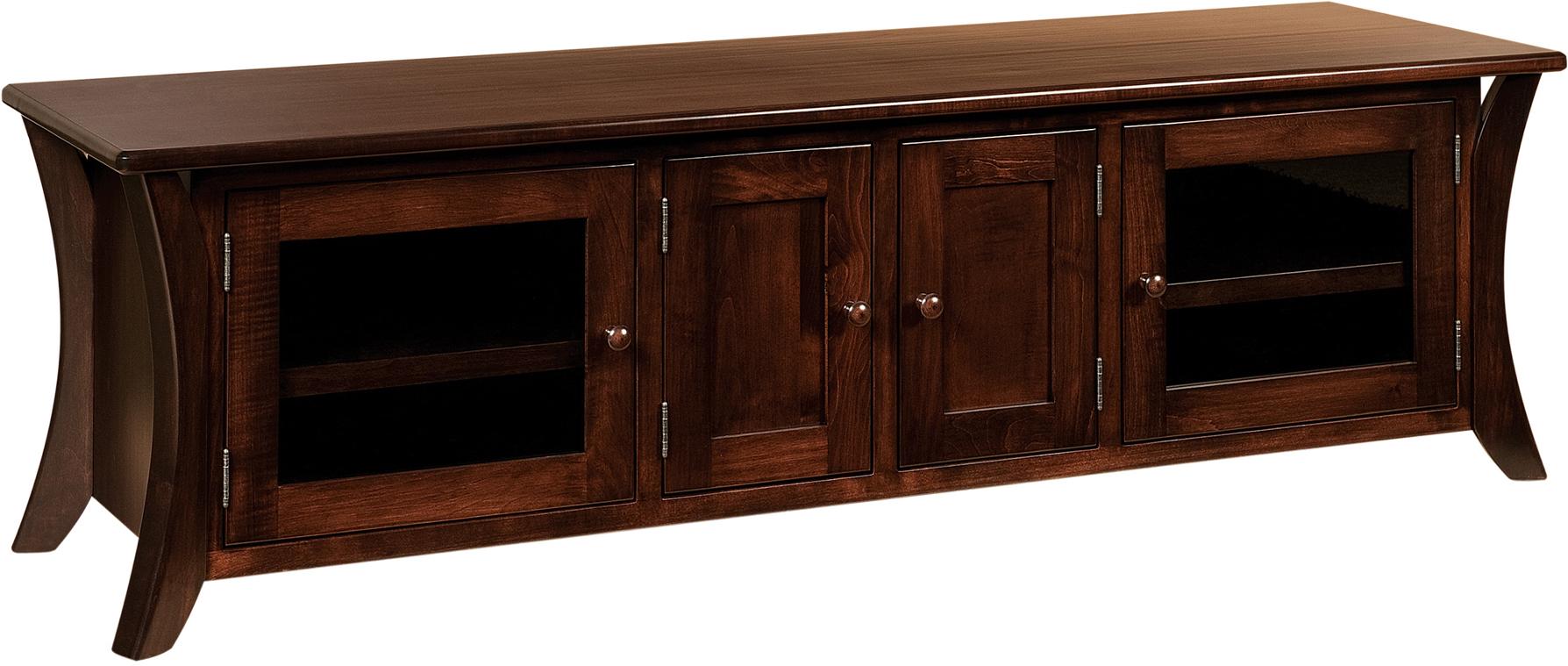 Caledonia Low Tv Cabinets Custom Amish Caledonia Low Tv