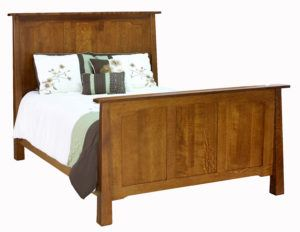Cambridge Hardwood Bed