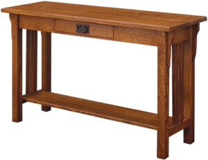 Camden Mission Open Sofa Table