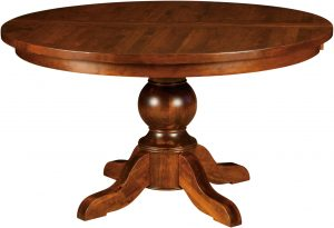 Carson Single Pedestal Dining Table