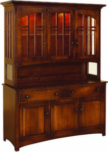 Cascade Hardwood Hutch