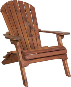 Traditional Adirondack Folding Chair