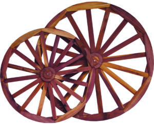 Cedar Decorative Wheels