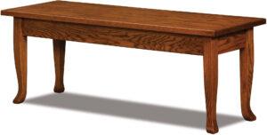 Charleston Hardwood Bench