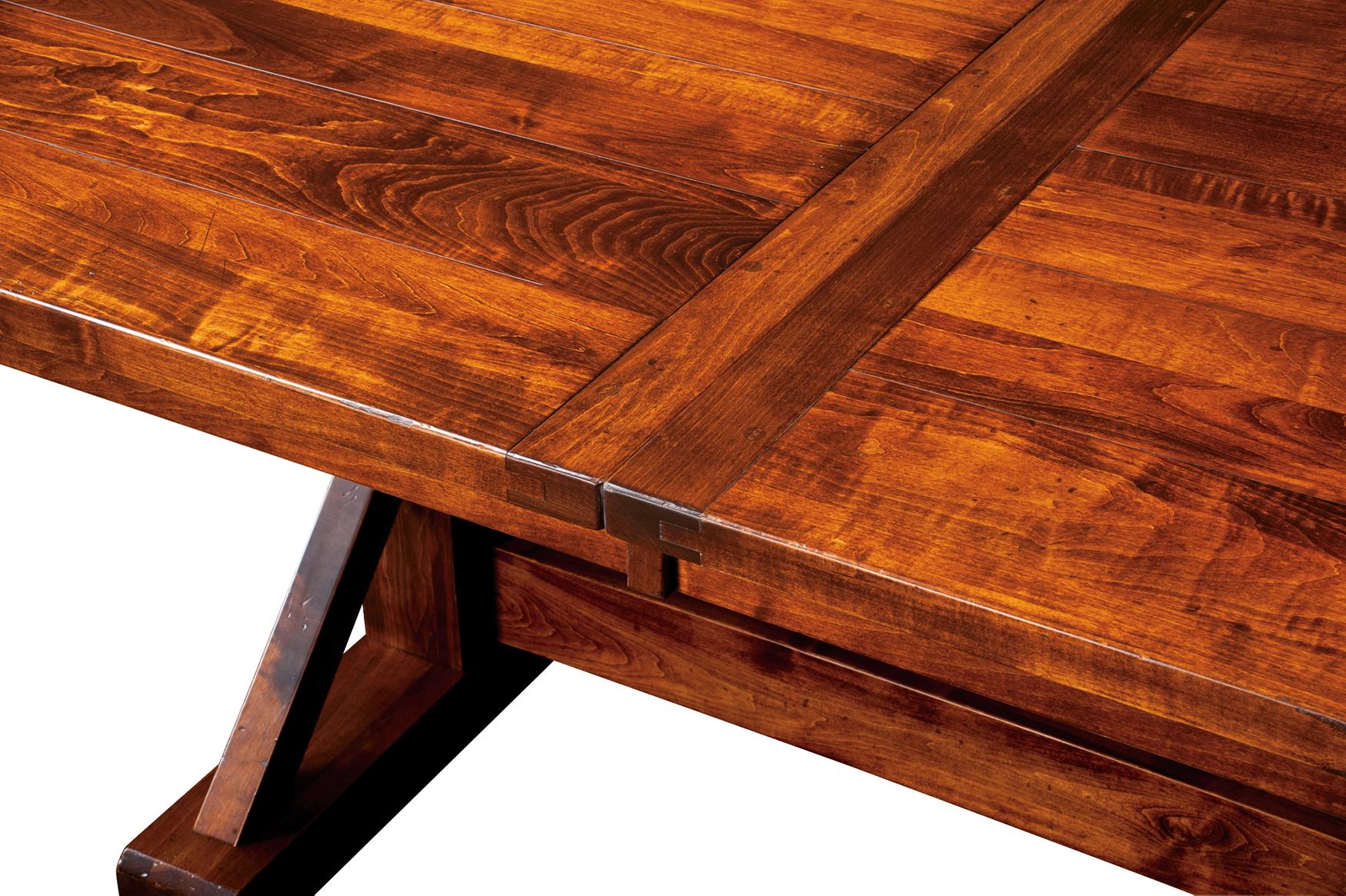 Chesapeake Dining Table Custom Amish Chesapeake Dining Table