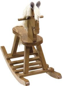 Classic Flat Seat Rocking Horse