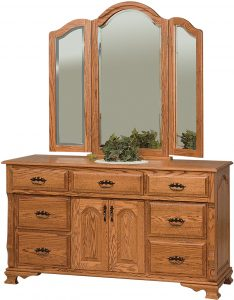 Classic Heritage Dresser with Two Doors