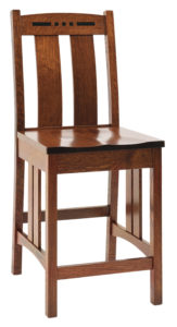 Colebrook Mission Bar Chair