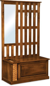 Country Hall Wood Seat