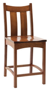 Country Shaker Stationary Bar Chair