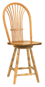 Amish Country Sheaf Bar Stool