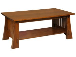Craftsman Mission Style Coffee Table