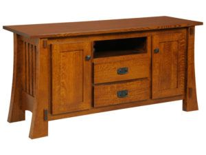 Craftsman Mission Style TV Stand