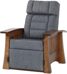 Craftsman Mission Style Wall Hugger Recliner