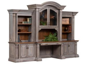 Paris Series Base and Three Piece Hutch