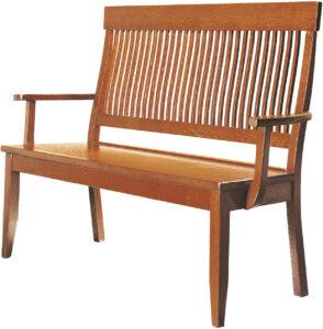 Solid Wood Dillard Bench