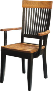 Dillard Style Two Toned Dining Chair