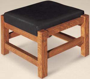 Durango Morris Hardwood Footstool