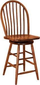 Econo Hardwood Swivel Bar Stool