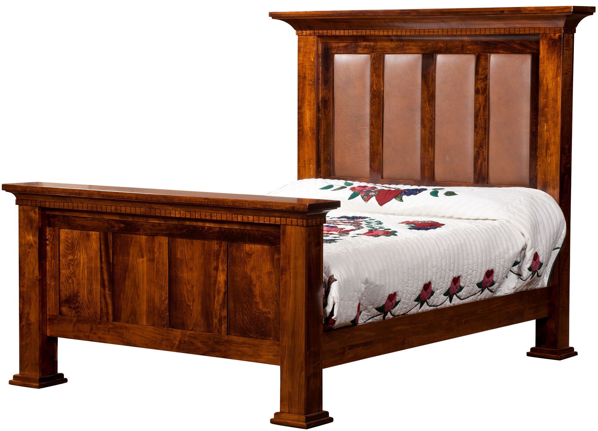 Empire Bed Empire Solid Wood Bed Empire Amish Built Bed