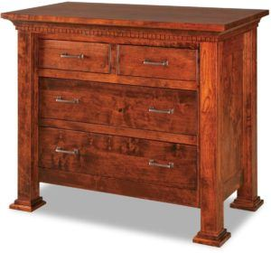 Empire Four Drawer Child's Chest